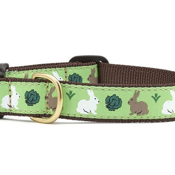 Up Country Garden Rabbit Dog Collar