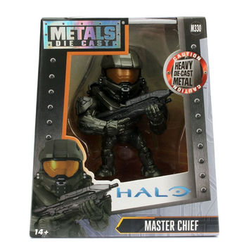 "Jada Diecast Metal 4"" Halo Master Chief"