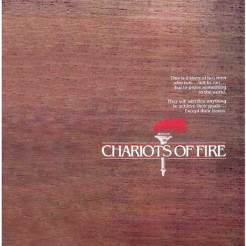 Chariots of Fire 11x17 Movie Poster (1981)