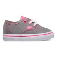 Vans Toddlers Neon Pop Authentic (Frost Gray/Pink)