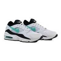AUGUAU NIKE Air Max 93 - White/Black-Dusty Cactus
