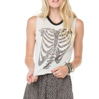 Brandy ♥ Melville |  Agathe Skeleton Tank - Graphics