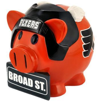Philadelphia Flyers NHL Team Thematic Piggy Bank (Large)