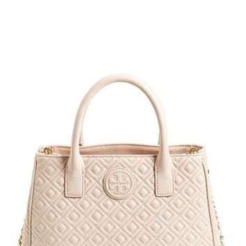 Tory Burch 'Marion' Quilted Lambskin Tote