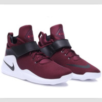 NIKE simple coconut shoes breathable sports shoes Wine red