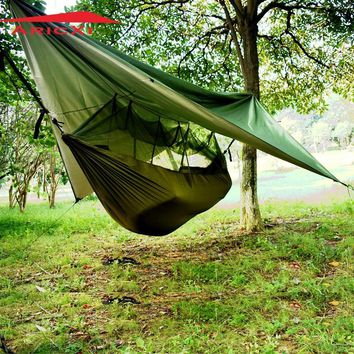 ARICXI Military tree tent Hammock Tent With Anti Mosquito Net Mesh Portable tent For Outdoor Camping Hiking