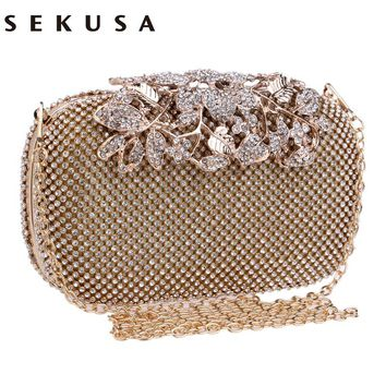 Crystal Evening Bag Clutch Bags