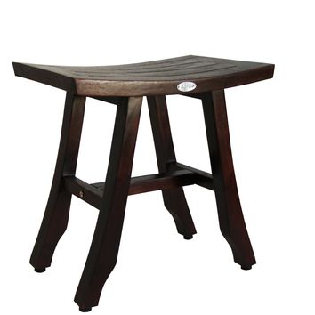 Ala Teak - Teak Wood Shower Bath Spa Waterproof Bench Stool