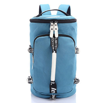 College Back To School Stylish Hot Deal Comfort On Sale Casual Multi-function Canvas One Shoulder Bags Ladies Backpack [6304976388]