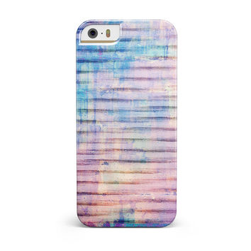 Dripping Blue Paint iPhone 5/5S/SE INK-Fuzed Case