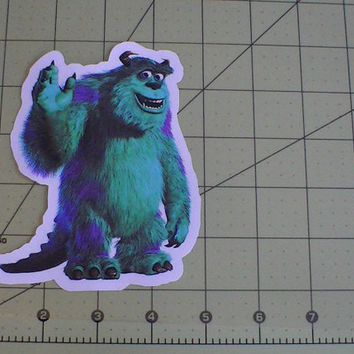 Monster inc. Sully Sullivan sticker