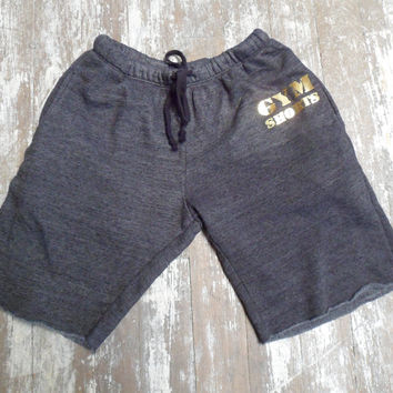 Gym Shorts - Gold Sweatshorts