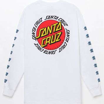 Santa Cruz Ringed Dot Long Sleeve T-Shirt at PacSun.com