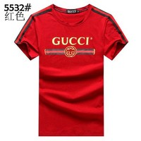 One-nice™ GUCCI Women Man Fashion Print Sport Shirt Top Tee