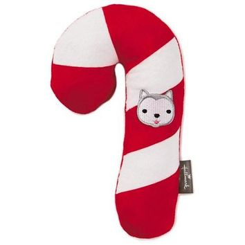 Jingle® Stuffed Candy Cane Pet Toy