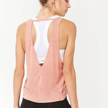 Active V-Cutout Tank Top