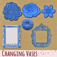 Changing Vases: Happy Birthday to Me and a Free Scrapbook Kit for You