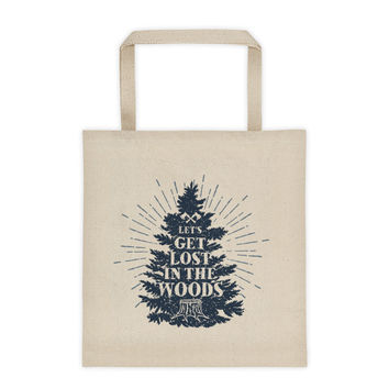 Let's Get Lost - Tote Bag