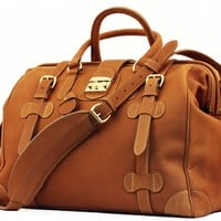 All Leather Safari Bag - Weekend Bags - Bags