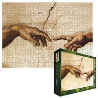 Creation of Adam Hands Detail Jigsaw Puzzle - 1000-Piece