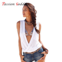 Large Size 3XL Summer Women 2016 Tank Tops V neck Sleeveless Front Short Back Long Sexy Casual Beach Tanks Vest Female Top Blusa