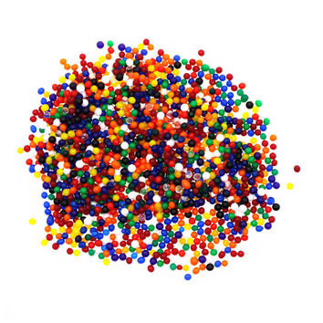 5000PCS Water Beads Pearl Shaped Crystal Soil  Grow Magic Jelly Balls  Home Decor Hydrogel
