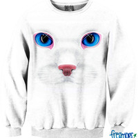 Cats Life Crewneck | fresh-tops.com