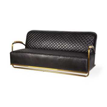 Horace Leather Sofa