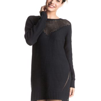 Borrowed Time Sweater Dress 889351488428 | Roxy