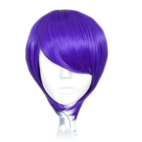 Purple Cosplay Wig Short Hair