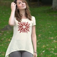 NEW! Sumac Ebb and Flow Top