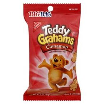 Teddy Grahams Cinnamon Graham Snacks 3 oz