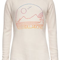 Billabong Soaked In Sun Girls Thermal Cream  In Sizes