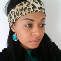 Women's Leopard Print Headband + FREE Shipping on all items until Dec.14.2013
