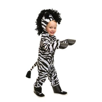 Child Baby Outfit Winter Warm Dress Up African wild horse Cosplay Costumes  Animal Clothes Halloween Costumes