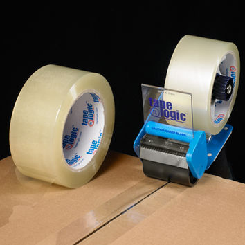 2  X 110 Yds. Clear (6 Pack) Tape Logic  2.6 Mil Acrylic Tape