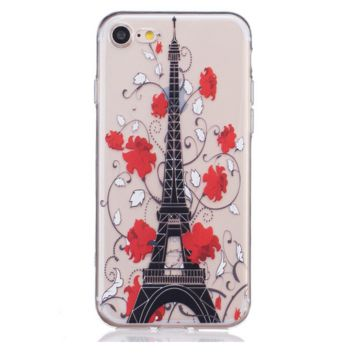 Rose tower Phone Case Cover for Apple iPhone 7 7 Plus 5S 5 SE 6 6S 6 Plus 6S Plus + Nice gift box! LJ160930-005