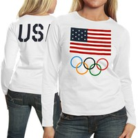 Team USA Women's The One Long Sleeve T-Shirt - White