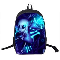 Gamer Gaming Undertale backpack bag school unisex hip books laptop travel carrying carry on luggage