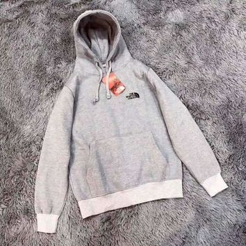 CREYHD2 The North Face Women Hoodie Embroidery Logo Top Sweatshirt Sweater