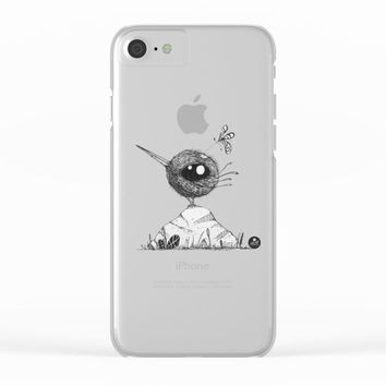 Phoebe Clear iPhone Case by Juanpablo Castromora
