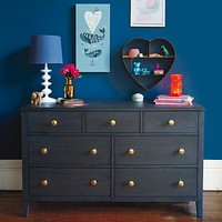 Bayside Rustic 7-Drawer Dresser (Denim Finish) in Bayside Collection | The Land of Nod