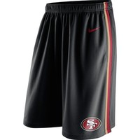Men's Nike Black San Francisco 49ers Epic Shorts