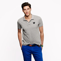 PLAY Comme des Garçons® polo in grey - tees, polos & fleece - Men's new arrivals - J.Crew