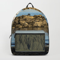 Alaska Fishing Boat Backpack by audrey_ross