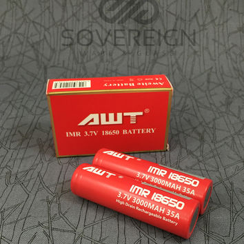 AWT 35A 18650 3000mAh Rechargeable Battery
