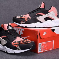 """Nike Air Huarache"" Unisex Sport Casual Multicolor Air Cushion Sneakers Couple Running Shoes"