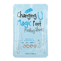 TONYMOLY Changing U Magic Foot Peeling Shoes, 5.60 Ounce