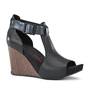 Tsubo Nancie Wedge Sandals - Black
