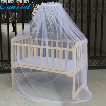 May 25 Mosunx Business Hot Selling Baby Bed Mosquito Mesh Dome Curtain Net for Toddler Crib Cot Canopy